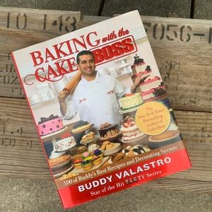 """""""Baking With The Cake Boss"""" cookbook"""